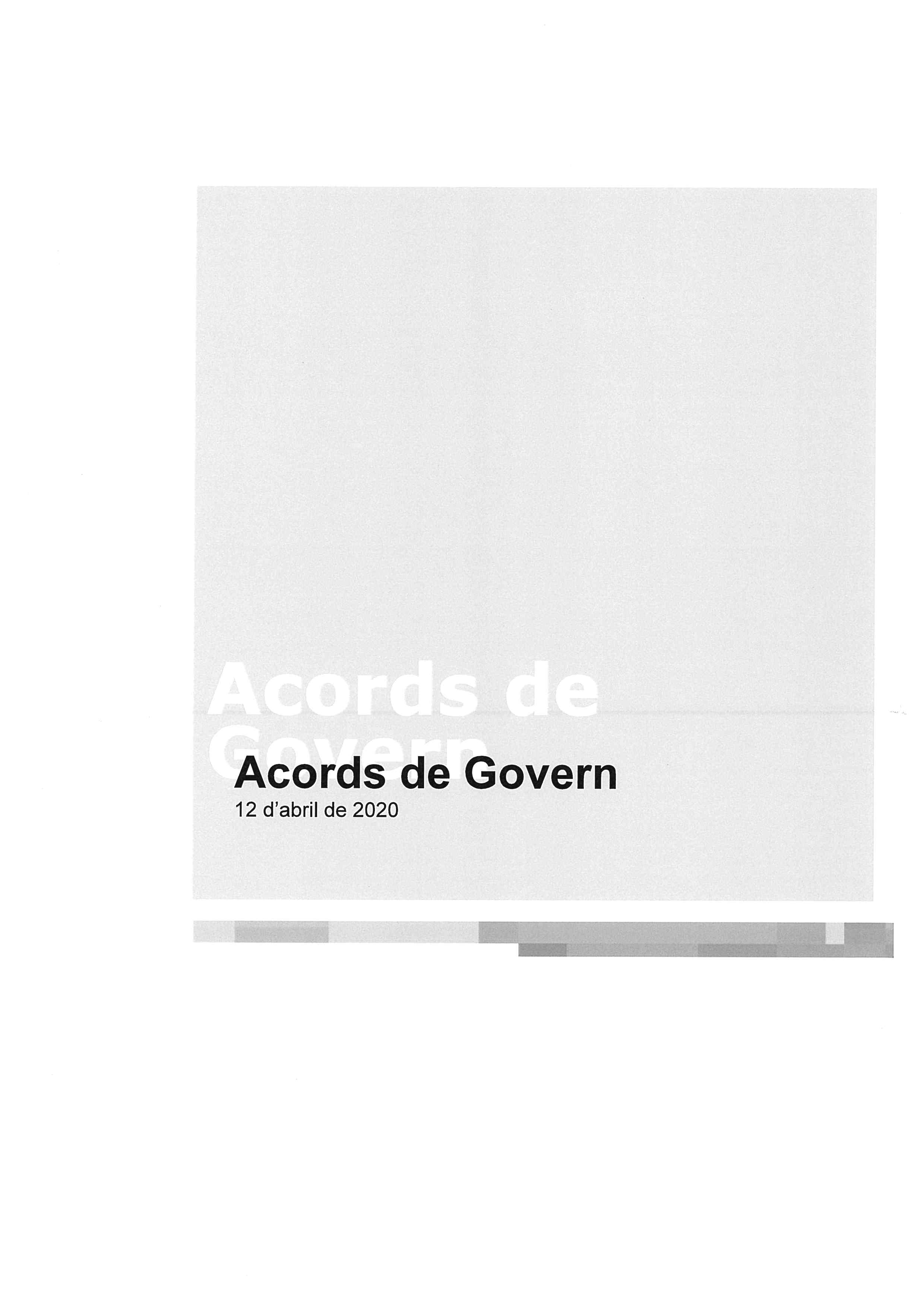 ACORD GOVERN 1