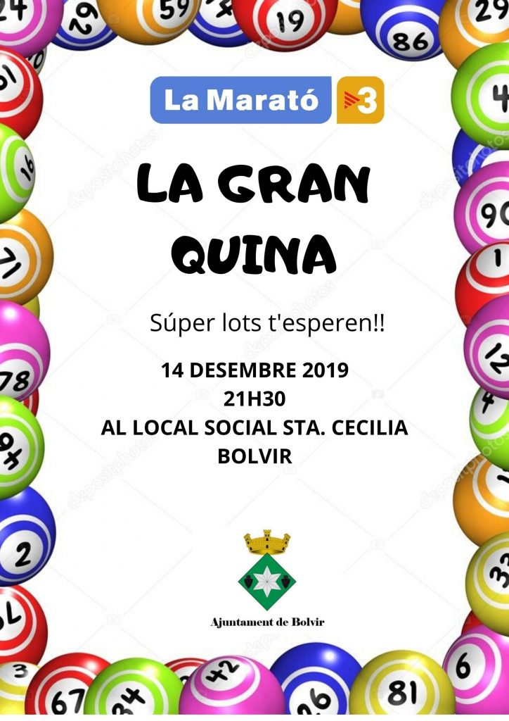 CARTELL QUINA 2019
