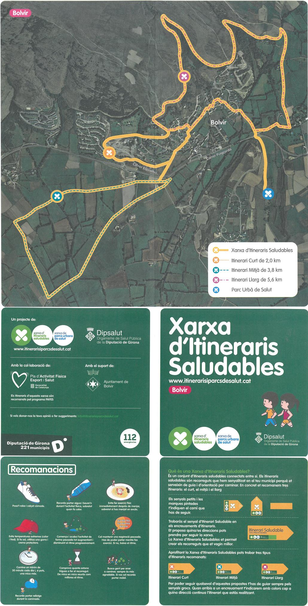 itineraris saludables